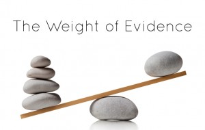 weight-of-evidence