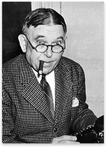 H.L. Mencken, in an outfit I wouldn't want