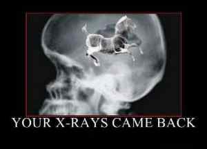 Your Xrays came back