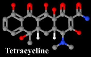 Tetracycline-Sumycin-Molecule-300x189