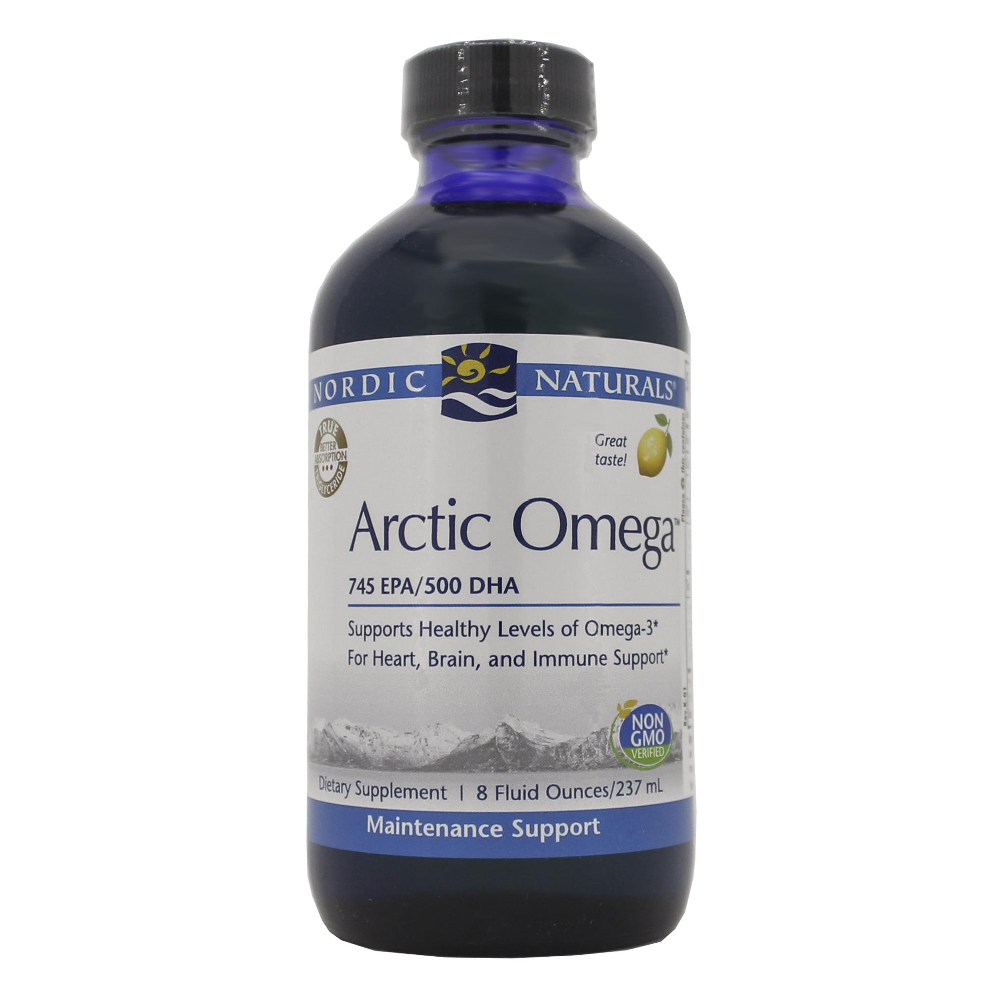 DoctorsChoice: Arctic Omega (Liquid) - Lemon by Nordic ...
