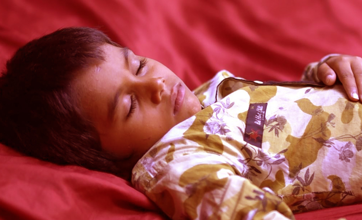 Bed-wetting in children