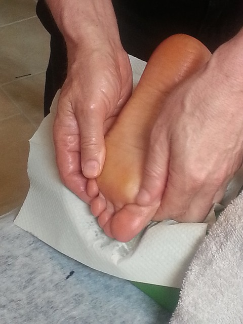 A massage can soothe aching feet
