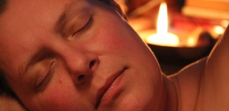 womean asleep