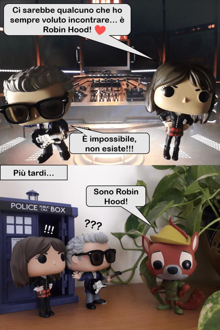 """EPISODIO I. Un curioso """"What if?"""" di Robot of Sherwood, con il Tardis che sbaglia leggermente strada e finisce nel mondo Disney!"""