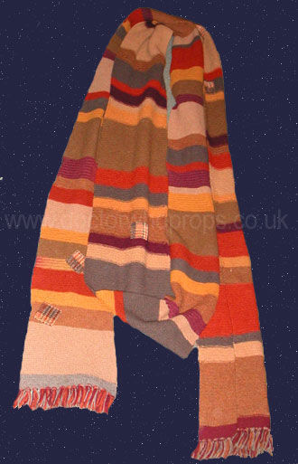 Scarf worn by Tom Baker as The Doctor