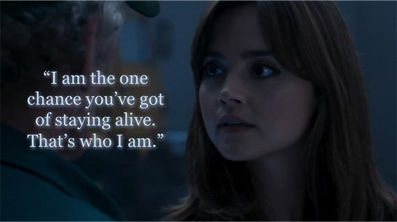 Image result for clara oswald only chance
