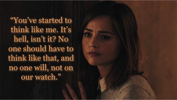 Image result for clara oswald the doctor will save us