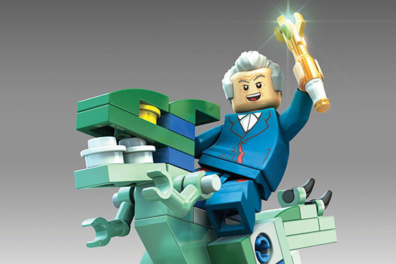 Capaldi For LEGO Dimensions Doctor Who TV