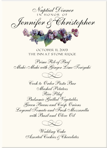 Wedding Place Cards Table Numbers Menu Cards Seating