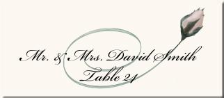 Rose Wedding Program Examples-Wedding Program Wording