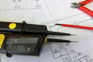 CAD Zeichnung Technische Illustration