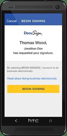 Image result for docusign mobile app