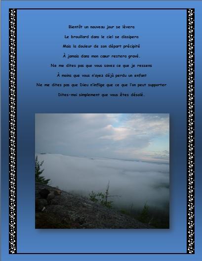 Signet… Le brouillard