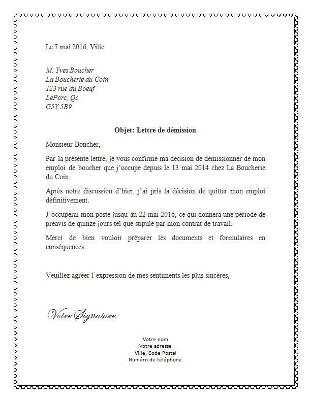 lettre_de_demission_pour_boucher