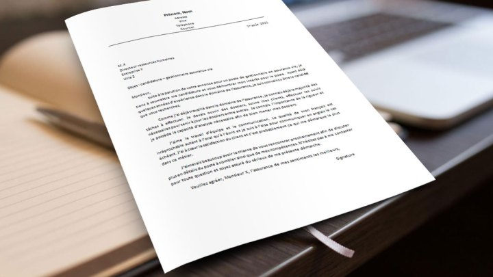 Lettre de motivation | Gestionnaire assurance