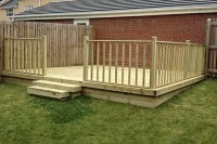 Redwood Deck Boards (4.8m x 125mm x 32mm ) - Fencing ...