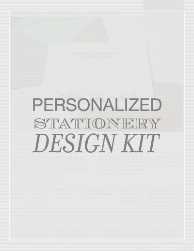 Custom Personalized Stationery in Charleston, SC by