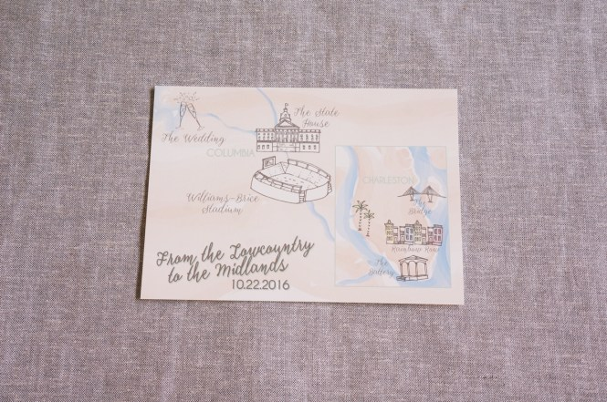 Personalized Wedding Maps By Dodeline Design Charleston