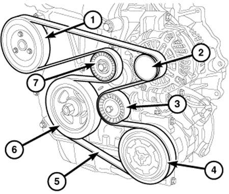 2013 Chrysler 200 3.6 Serpentine Belt Diagram 2015