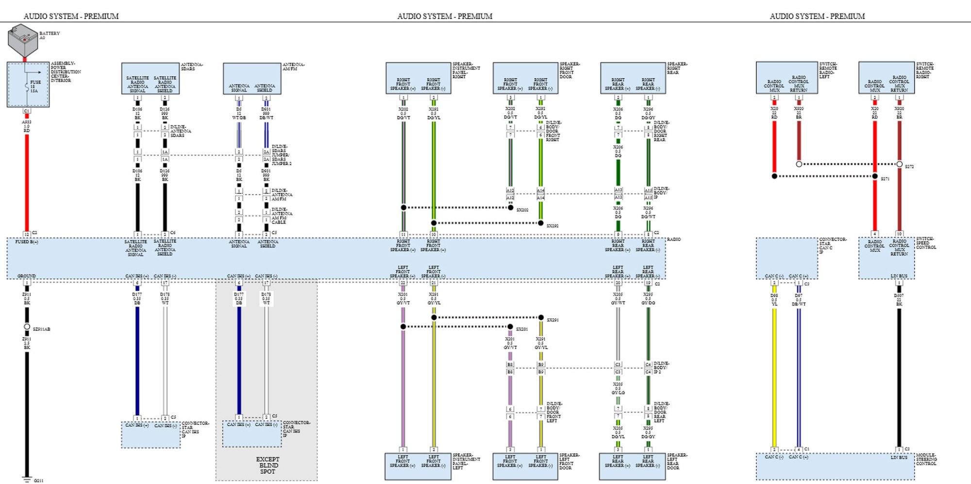 hight resolution of 2014 dodge ram alpine speaker wire colors adding lc7i to 8 4 6 speaker system