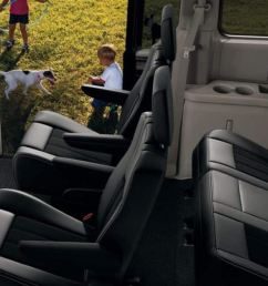 the dodge grand caravan seats up to seven with enough room to separate even the fiercest of rival siblings  [ 1440 x 628 Pixel ]