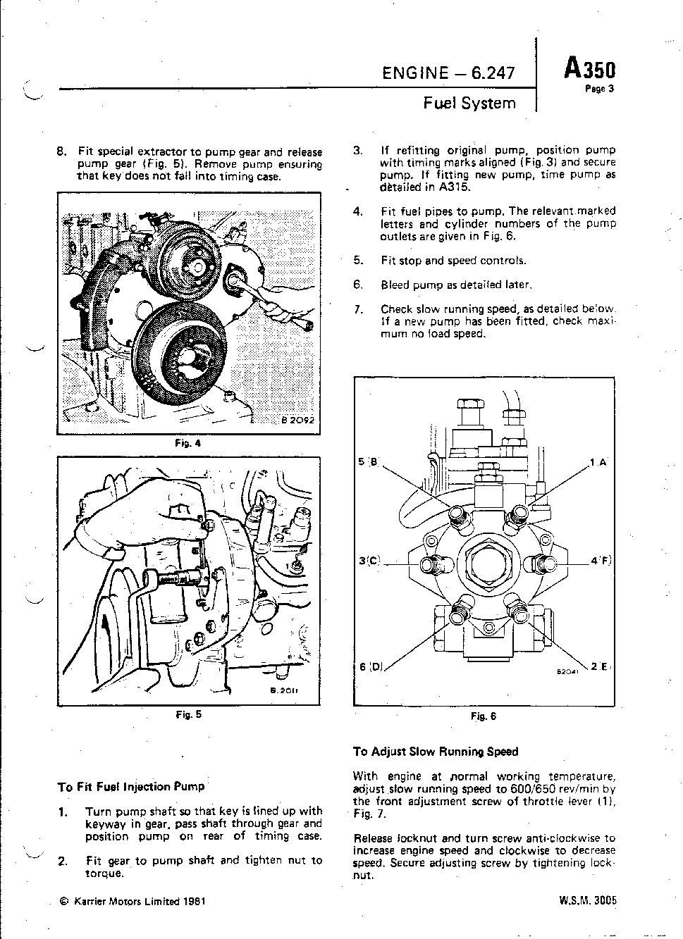 Dodge 50 6.247 Fuel System Index