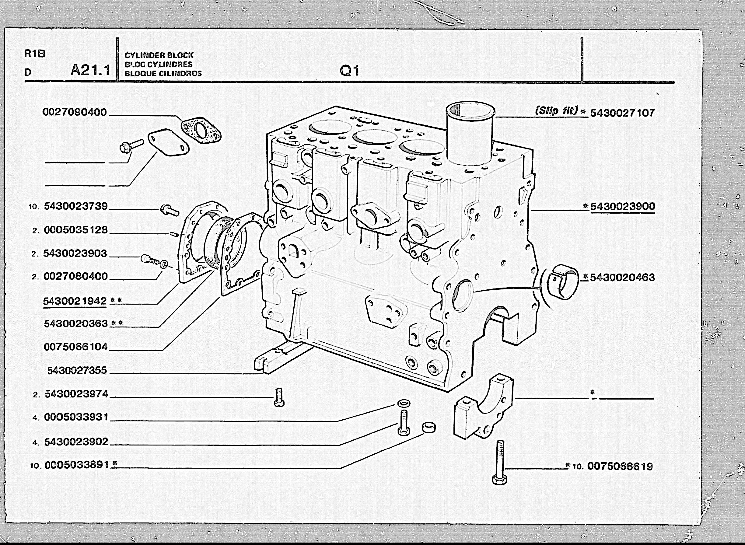 Index Of Full Parts Microfisch Mk11 New 50 Series R1b