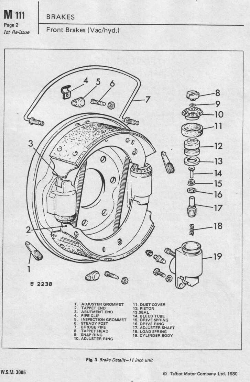 Dodge50.co.uk Mk1 Brakes Workshop Manual Wsm 3005 page 4