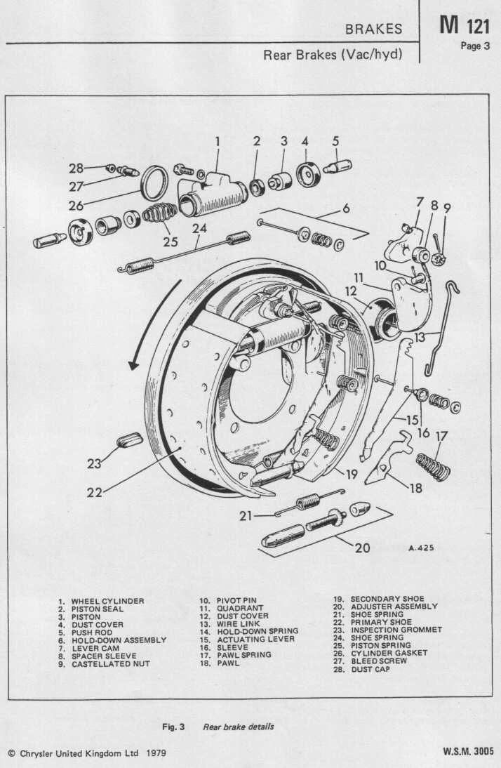 Dodge50.co.uk Mk1 Brakes Workshop Manual Wsm 3005 page 12