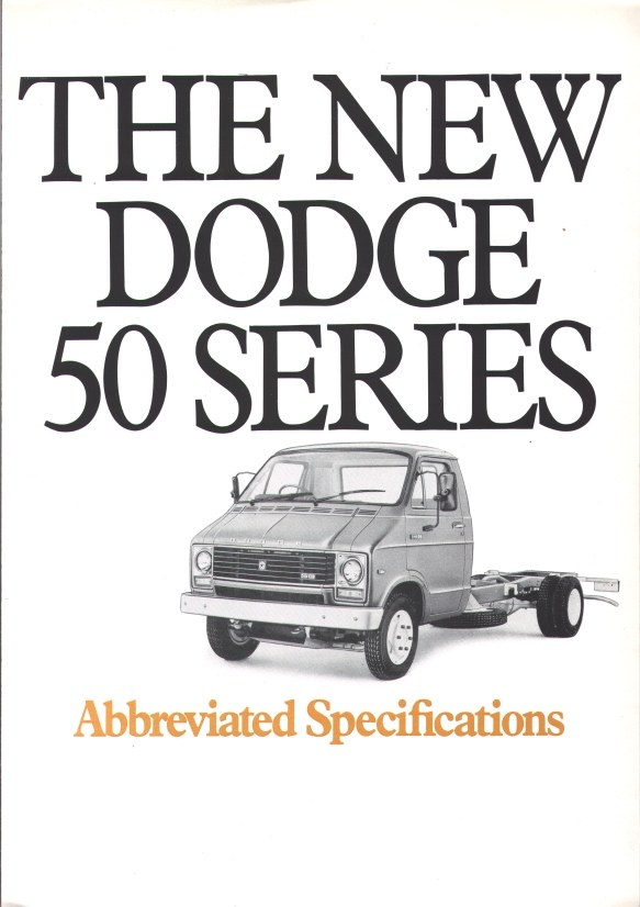 Dodge50 Specifications