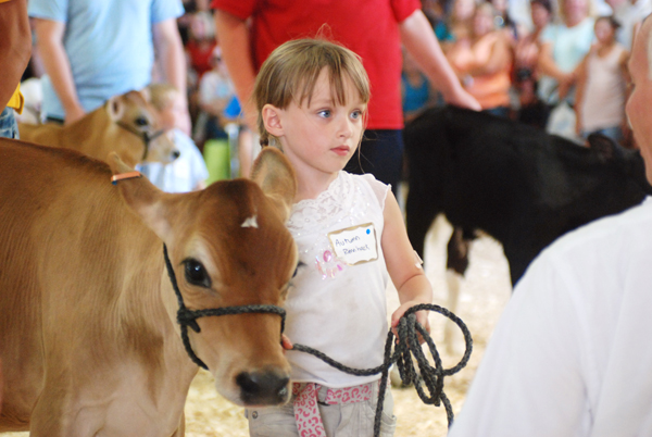 Autumn Rennhack at the Dodge County Fair