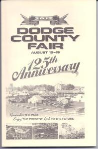 125th Anniversary Dodge County Fair Book