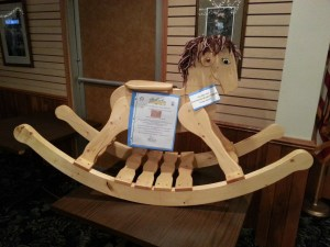 Bucky the Rocking Horse Auction
