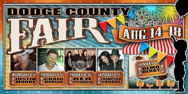 Dodge County Fair Headliners 2013