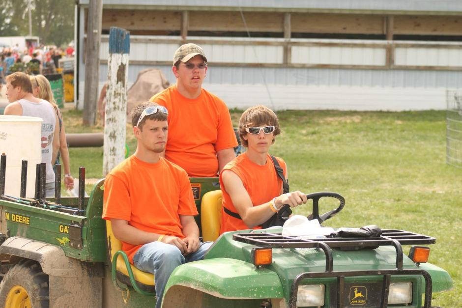 Grounds Crew at the Dodge County Fair