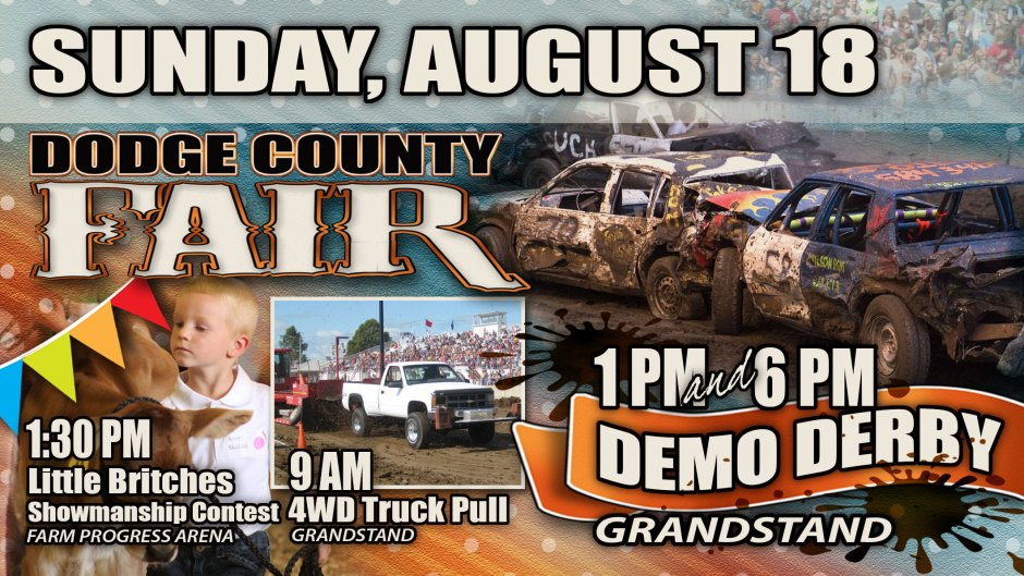 Dodge County Fair Sunday Banner Ad