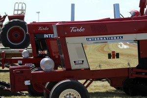 IH Turbo ready for Tractor Pull