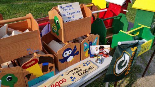 Handmade Kids Toolboxes