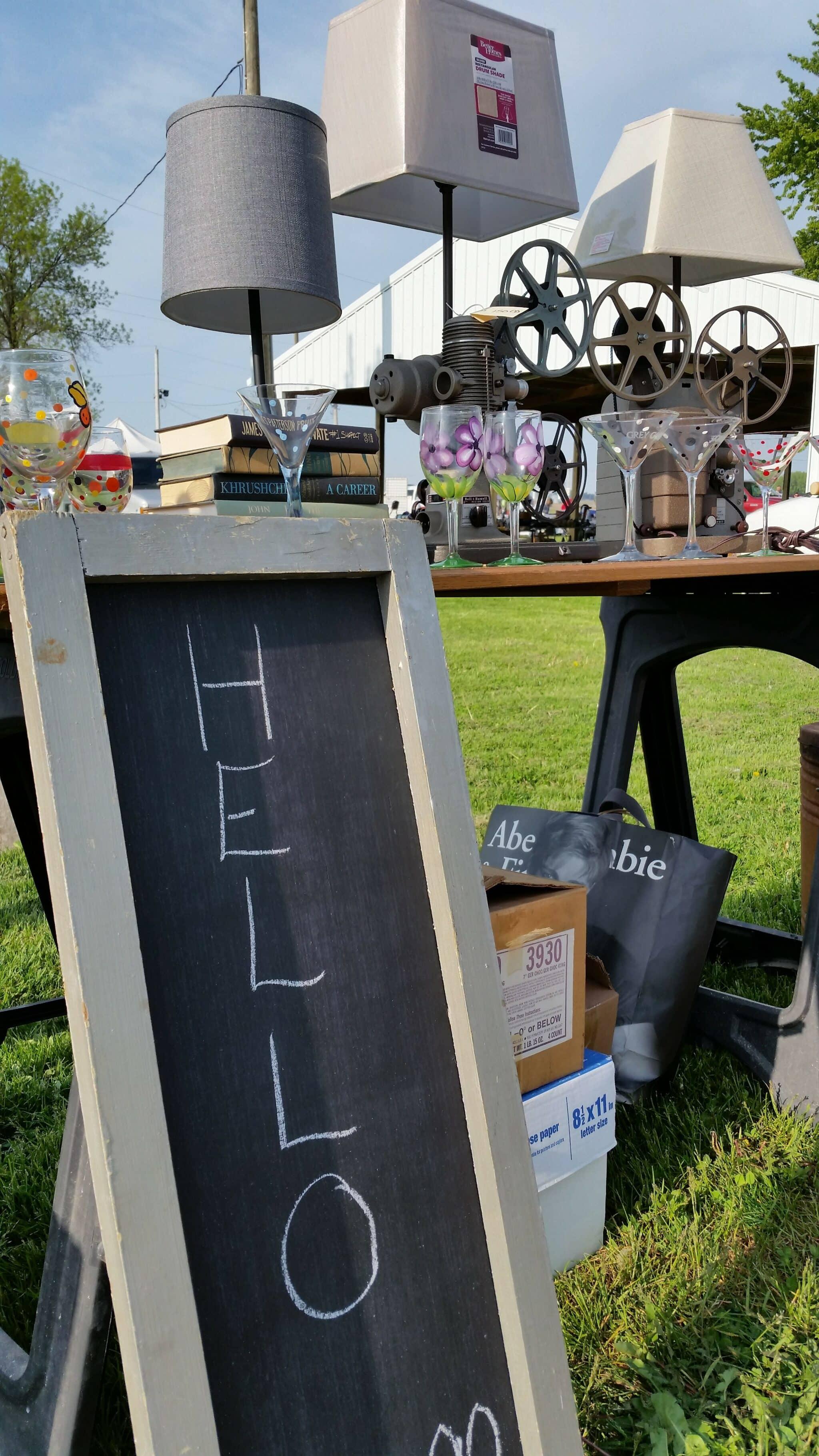 Flea Market Photos May 21   Dodge County Fairgrounds