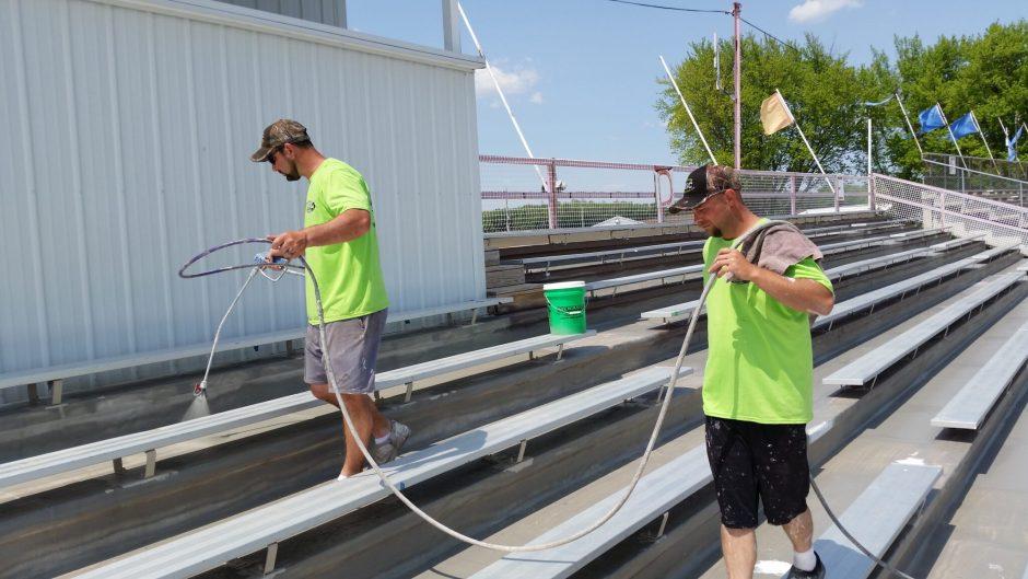 Schweitzer Spray Coatings Fairgrounds Beaver Dam