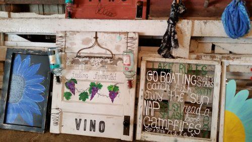 Door and Window Vintage Farm Art