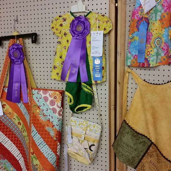 Open Class Clothing Judging Results