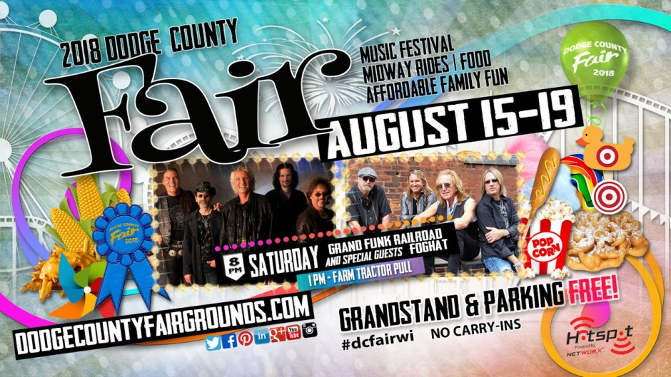 2018-08-18 Dodge County Fair Advertisement