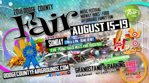 2018-08-19 Dodge County Fair Advertisement