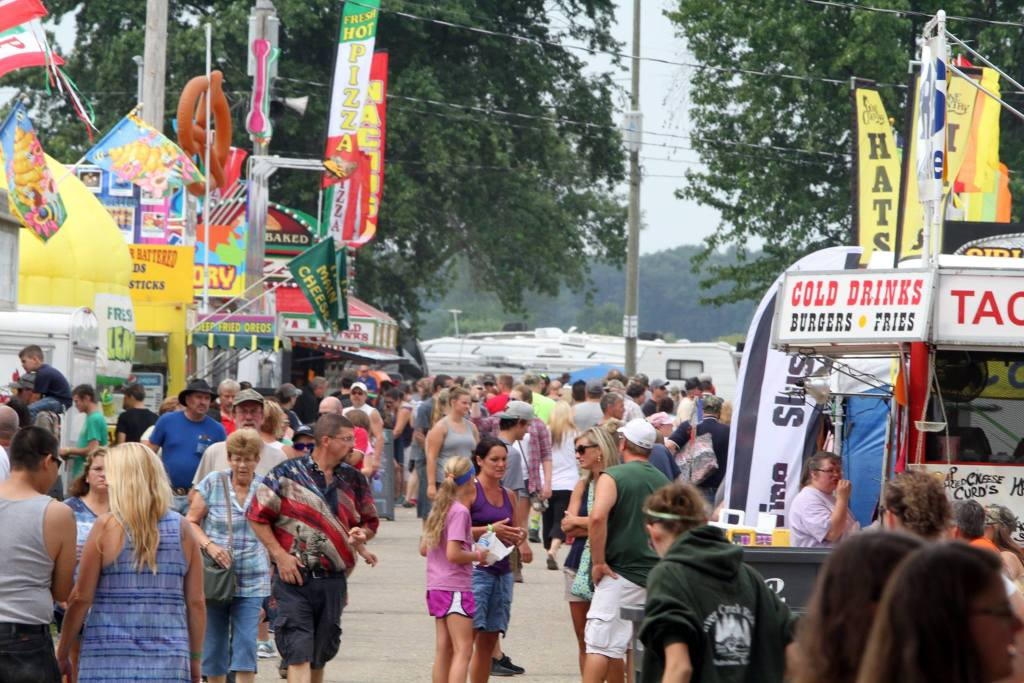 2018 Dodge County Fair Food Trucks