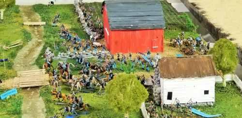 4-H farm-scene project