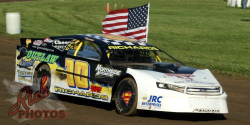 Jeff Richards American Flag National Anthem