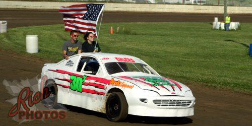 Jessica Ehlers American Flag National Anthem