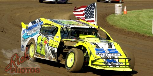 Jeff Schmuhl Parade Lap at Dodge County Fairgrounds Speedway